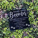 Pet Memorial Stone Personalized - Granite Cats