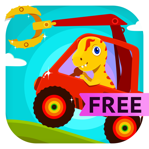 (Dinosaur Digger - Monster Truck Simulator & Driving Games For Kids and Toddlers Free)