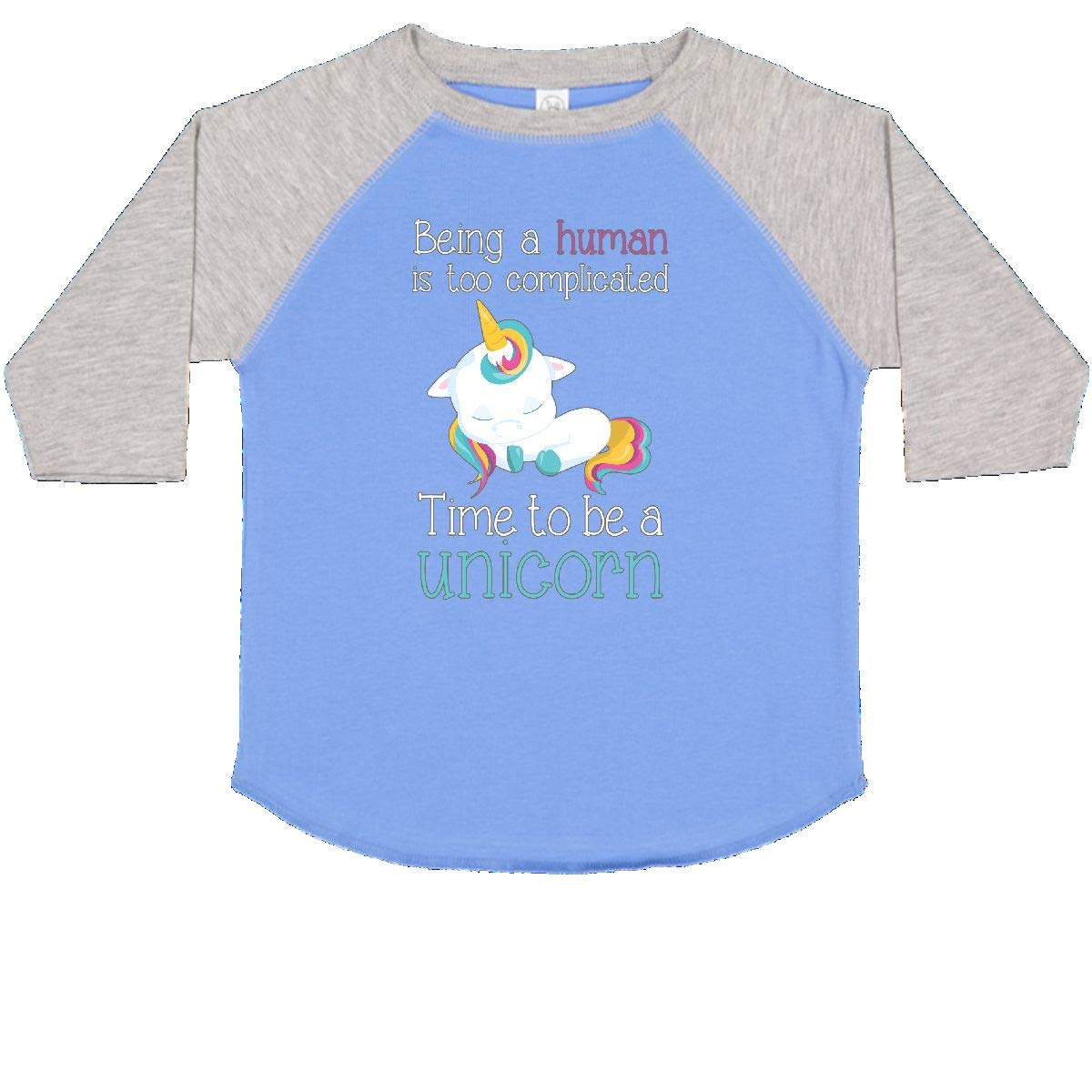 inktastic Time to Be a Unicorn Toddler T-Shirt