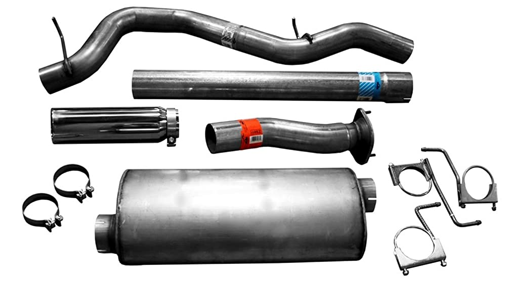 3. Dynomax 39432 Stainless Steel Exhaust System