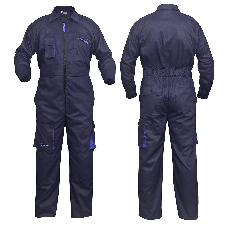 Work Wear Men/'s Overalls Boiler Suit Coveralls Mechanics Boiler suit Protective