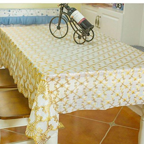 A 135180cm Nappe de cuisine nappes pvc l'eau et l'huile fraîche nappe rectangulaire table nappe TV armoires draperies ( Couleur   A , taille   135180cm )