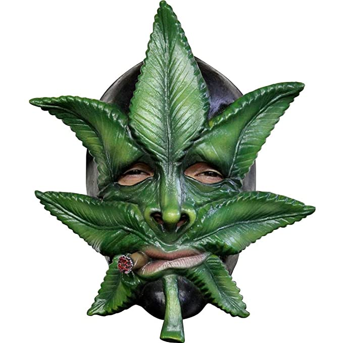 Image result for ghoulish weed mask