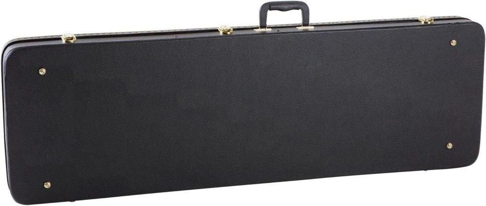 Musicians Gear Deluxe Bass Case Black