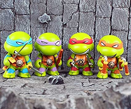 EVa Q versión de Teenage Mutant Ninja Turtles 4 8CM muñeca ...