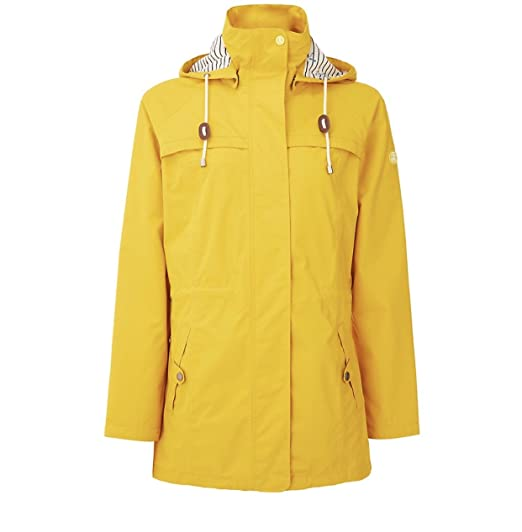 ae40683bf614a Barbour Ladies Bamburgh Waterproof Jacket Colour Canary Yellow Size ...