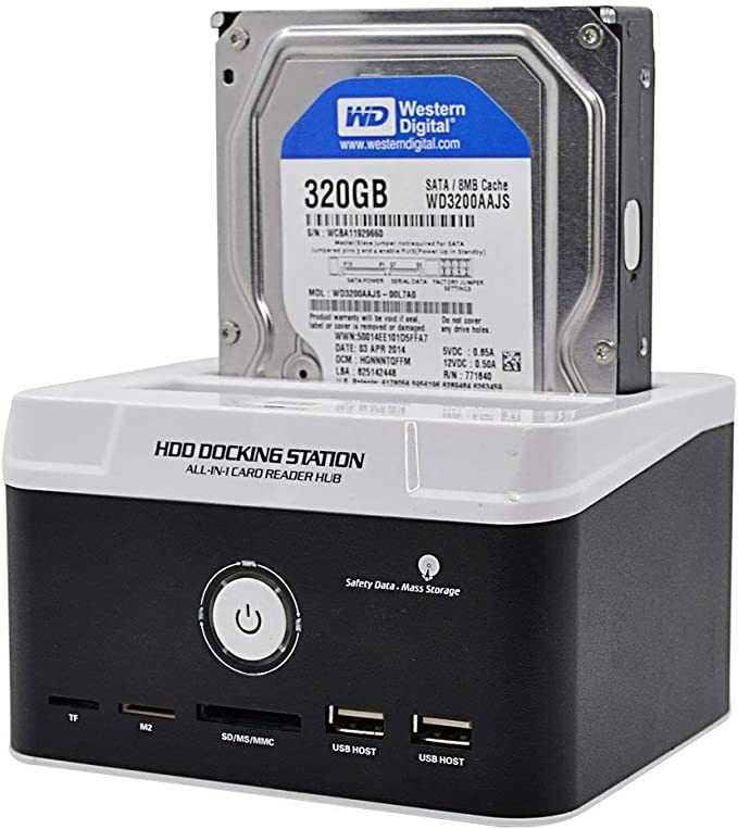 HDD Docking Station para SATA IDE 2.5
