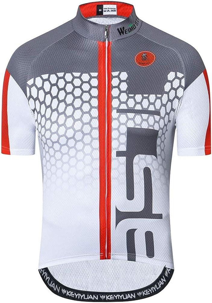 Maillot de ciclismo con manga corta para hombre (2021). Ropa de ciclismo para exteriores, bici de montaña