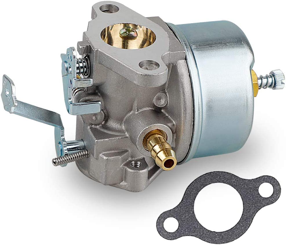 632230 632272 Carburetor with 30727 Air Filter for Tecumseh 5 HP 6 HP 631828 631067 631067A H30 H50 H60 HH60 HH70 Engines 4 Cycle Engine Troy Bilt Tiller Toro Snowblower Sears Tillers 47279 Carb