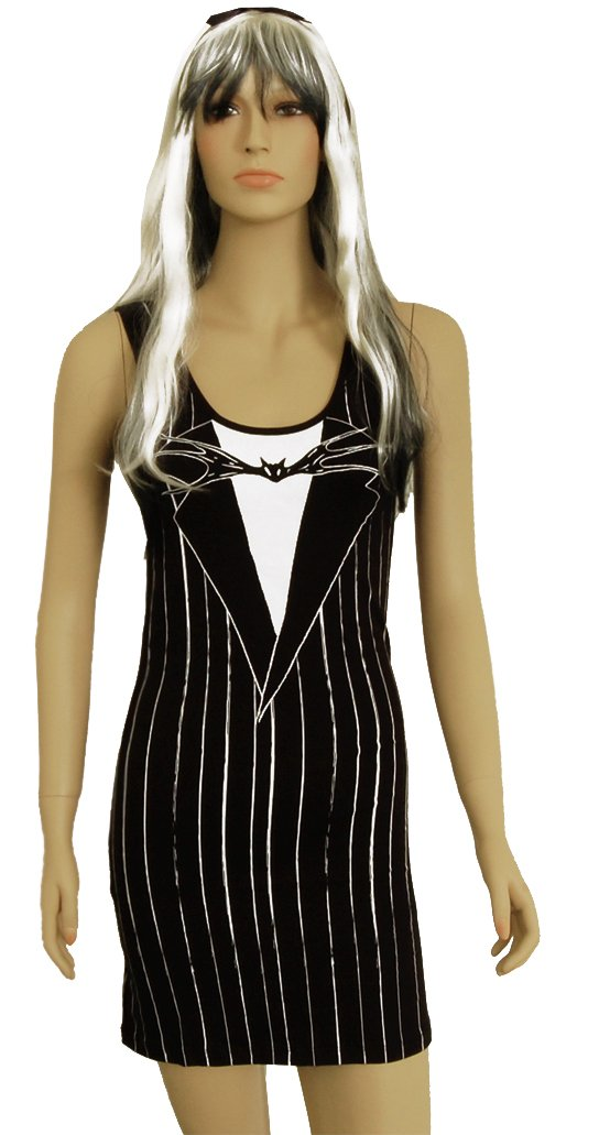 Nightmare Before Christmas The Jack Costume Tank Dress Adult Large