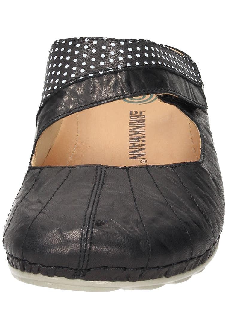 Dr. Brinkmann Damen Pantolette Schwarz Schwarz Pantolette 01398c