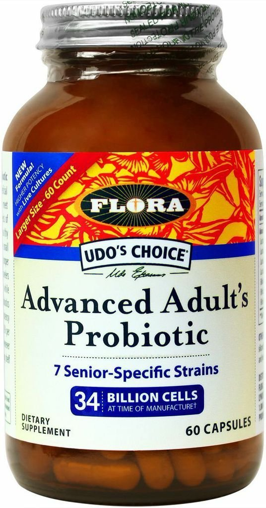 Udo's Choice - Advanced Adult's Blend Probiotic Capsules - 60 count