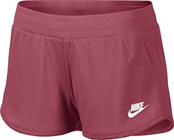 buy popular de835 5963c Nike Pantalon de Sport pour Femme Three Short-d Taille M Rouge - Rouge