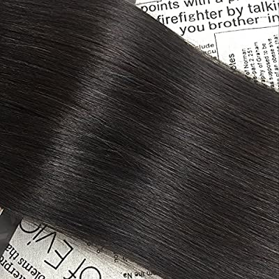 Moresoo 50g/20pcs 100% Straight Unprocessed Virgin Remy Human Hair Seamless Skin Weft Tape In Hair Extensions