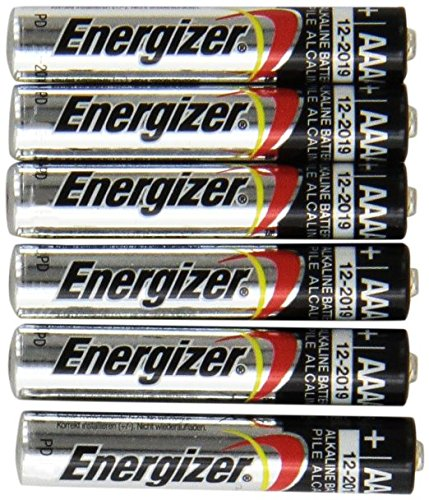 Alkaline Aaa 2 Batteries (Energizer 6 NEW AAAA Batteries)