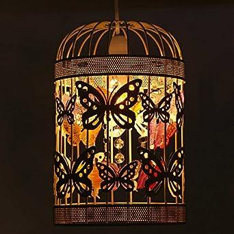 KLiving Pappillon - Lámpara de techo sin electricidad, 20 cm ...