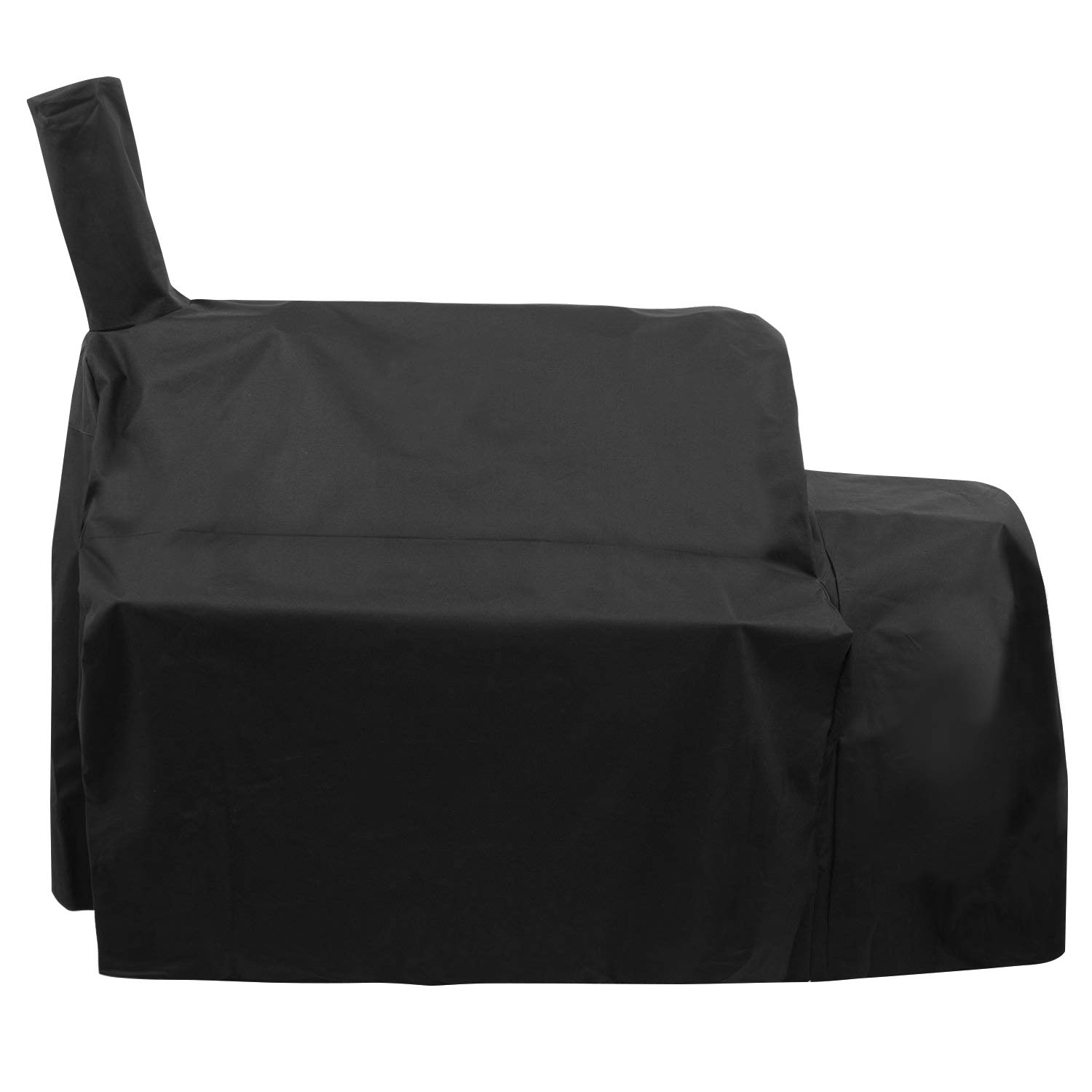 UNICOOK Heavy Duty Waterproof Grill Cover for Oklahoma Joe's Highland Smoker, Charcoal Offset Smoker Cover, Fade and UV Resistant, Fits Char-Broil, Dyna-Glo, Royal Gourmet, Char-Griller and More by UNICOOK