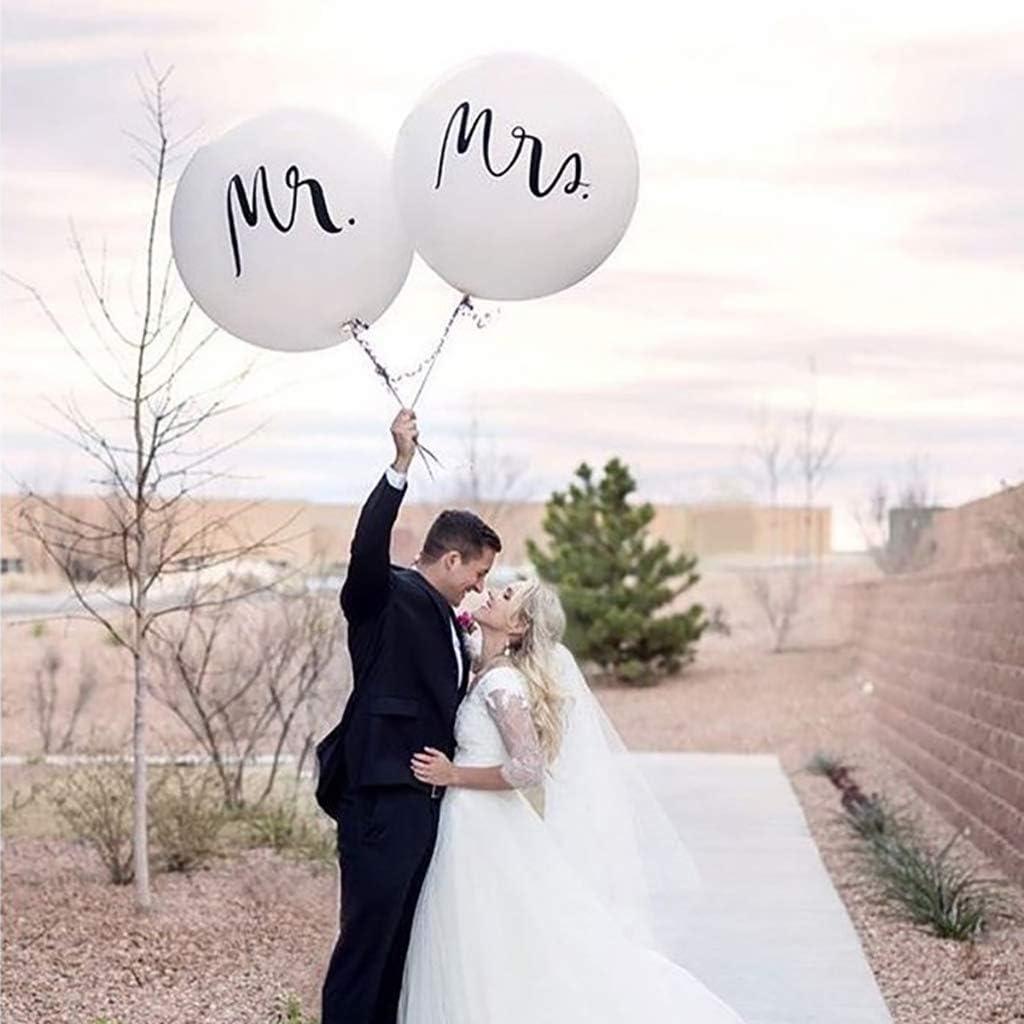 Hochzeit Riesenballons