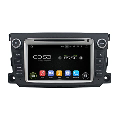 Android 6.0 Octa Core 1024 * 600 coche reproductor de DVD GPS navegación Multimedia estéreo coche