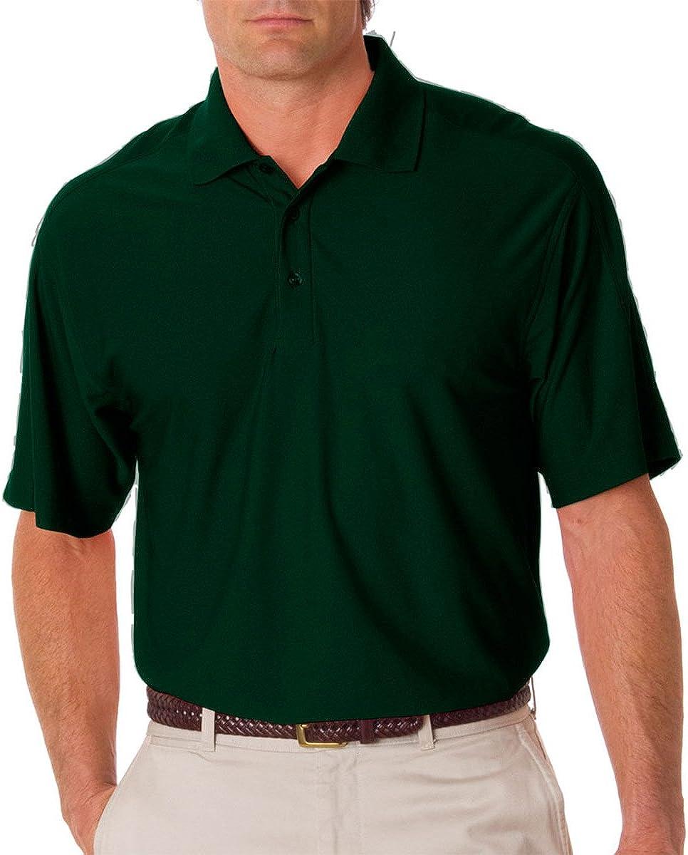 UltraClub Mens Tall Cool /& Dry Elite Tonal Elite Performance Polo Shirt 8415T...