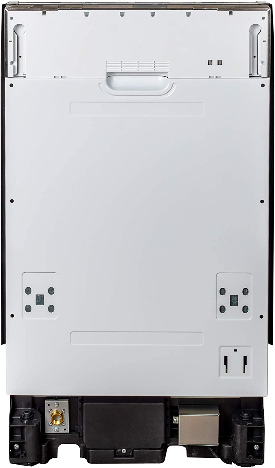 18 in. Top Control Dishwasher in Custom Panel Ready with Stainless Steel Tub 61AEyeUjFjLSL1500_