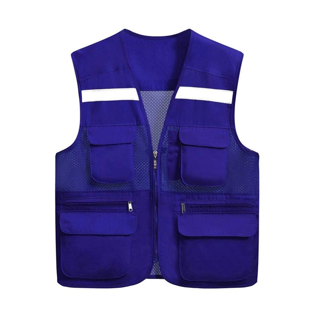 Farbe : Black, Size : XL Mehrfarbige Warnweste Reflektierender Warnwestenreitanzug