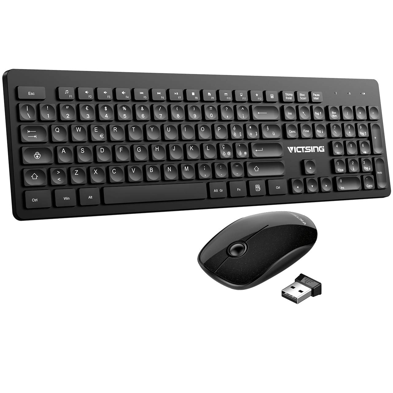 VicTsing Tastiera Wireless PC Italiana
