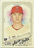 2018 Allen and Ginter #100 Shohei Ohtani Los Angeles Angels Rookie Baseball Card - GOTBASEBALLCARDS