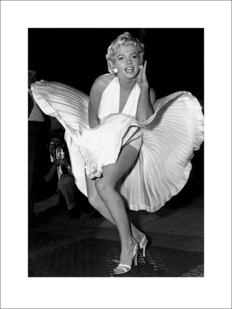 Marilyn Monroe Seven Year Impression 60x 80