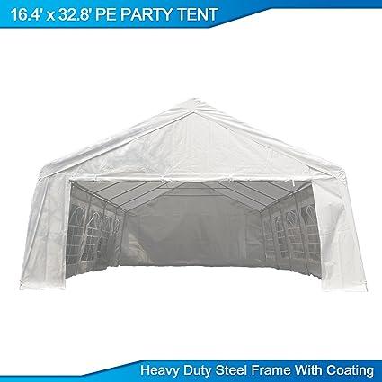 U-MAX 16.4u0027W x 32.8u0027D Heavy Duty Outdoor Wedding Carport Canopy  sc 1 st  Amazon.com & Amazon.com: U-MAX 16.4u0027W x 32.8u0027D Heavy Duty Outdoor Wedding ...
