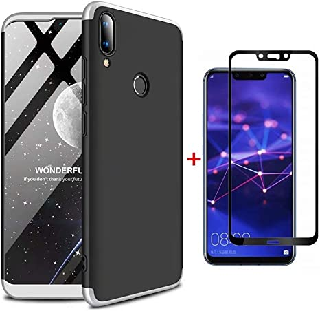Ttimao Compatible con Funda Huawei Y9 2019 PC Hard Case [Protector ...
