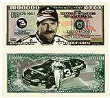 Dale Earnhardt Million Dollar Novelty Bill Collectible