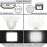 Aootek 120 Led Solar outdoor motion sensor lights