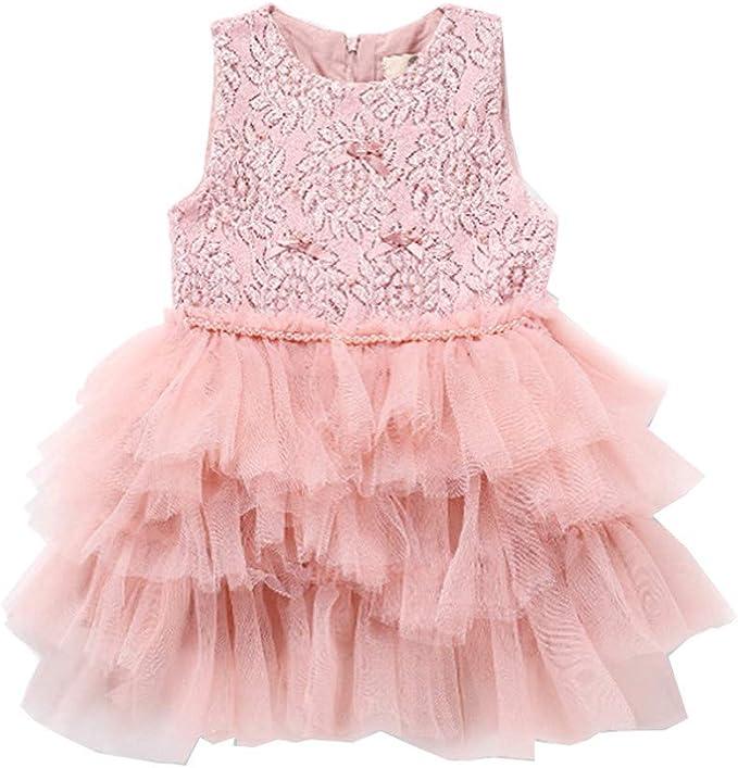 ASHOP Vestidos niña Manga Larga Faldas Vestido de Fiesta Cortos ...