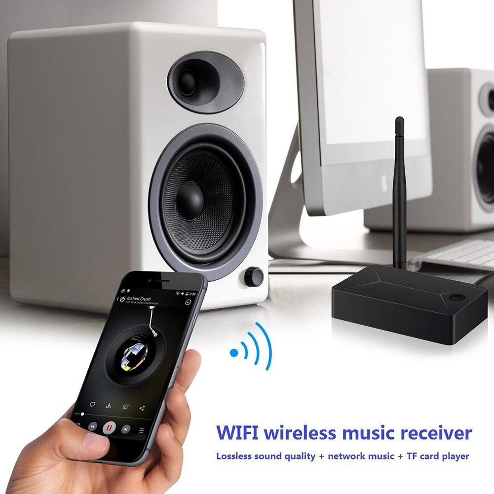 MKChung Mini WIFI Music Box Receiver, APP Control Wireless Music Receiver by MKChung (Image #2)