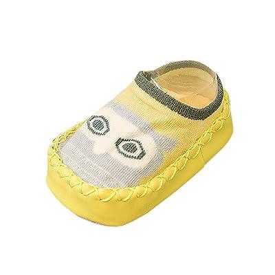 b089f1a210047 CHIC-CHIC Chaussures Souple Bébé et Bambin - Garçons et Filles Chausson  Mignon Animal Chaussures