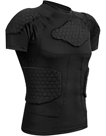 Basketball Sports Protective Gear Soccer Bumper Suit Rugby Clothing Short-sleeved T-shirt High Quality Sports Clothing