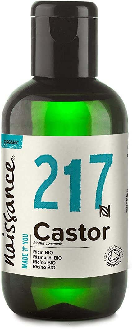 Naissance Aceite de Ricino BIO 100ml - Puro, natural, certificado ecológico, prensado en frío, vegano, sin hexano, no OGM - Hidrata y nutre el cabello, las cejas y las pestañas: Amazon.es: Belleza