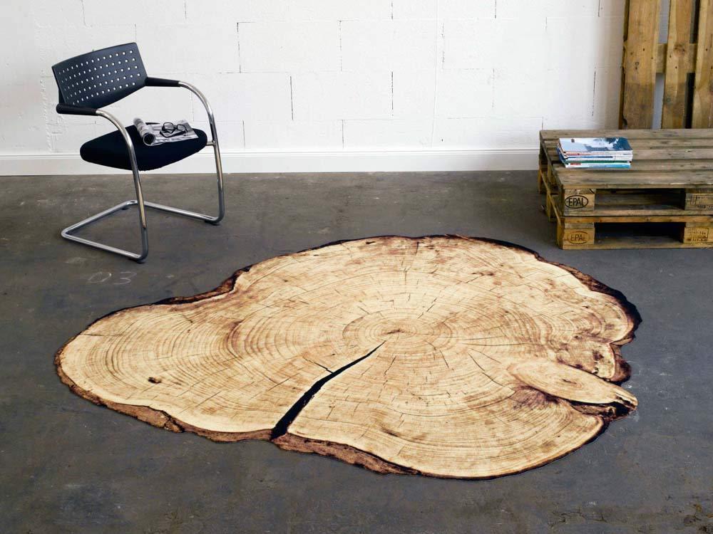Zala Living 102004 Konturteppich, Polyamid, braun, 200 x 200 x 0,4 cm