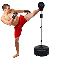 Muay Thai Bags & Kickboxing Bags - Tomasar Free Standing Punching Bag Speed Ball