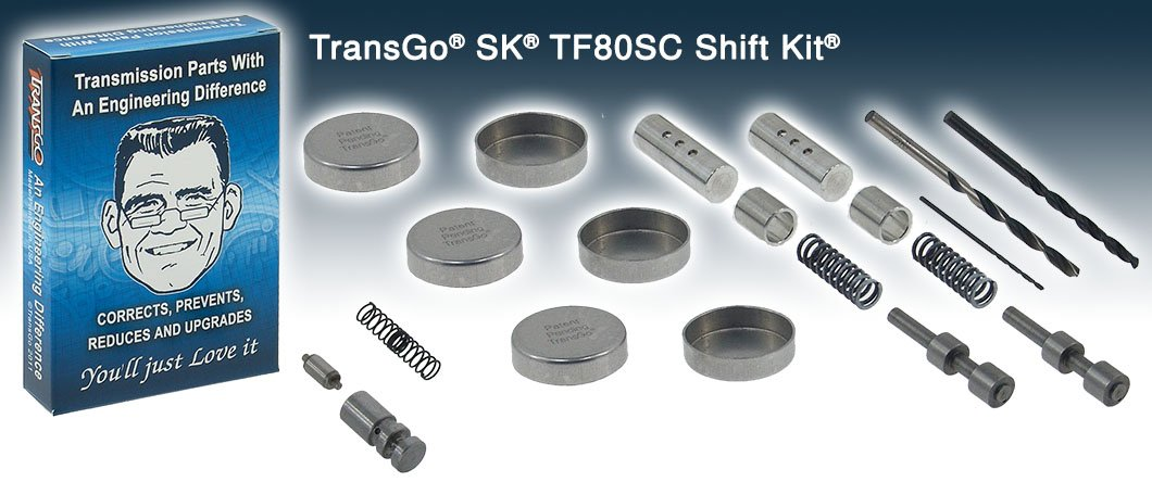 Transgo SK TF80SC Shift Kit (Volvo, Saab)