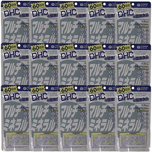 【セット品】DHC 180粒 マルチミネラル60日分 180粒 (15袋)【セット品】DHC (15袋) B01MR0RUKY, ジャングル ジャングル:33d970af --- ijpba.info