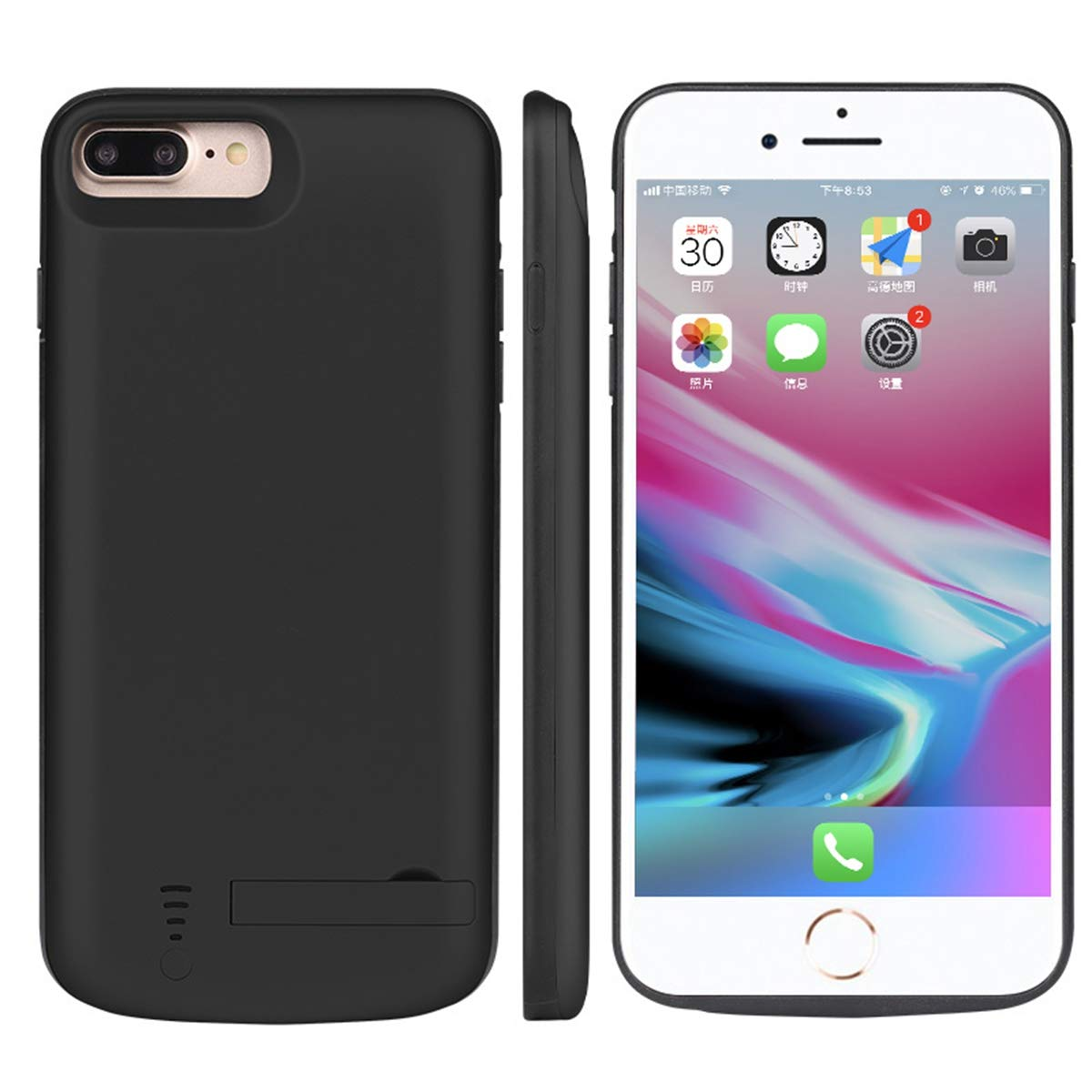 Runbiu Funda Bateria para iPhone 6 Plus iPhone 7 Plus iPhone ...