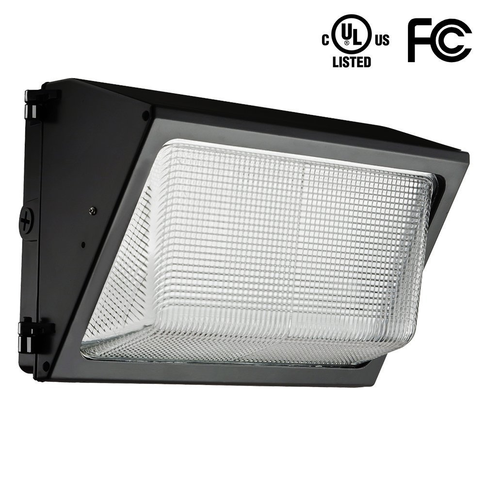 HERO-LED  WAL-100W-DW LED 100W Wall Pack Light 100 Lumen per Watt 600W HPS//HID Replacement UL Approved Daylight White 5000K