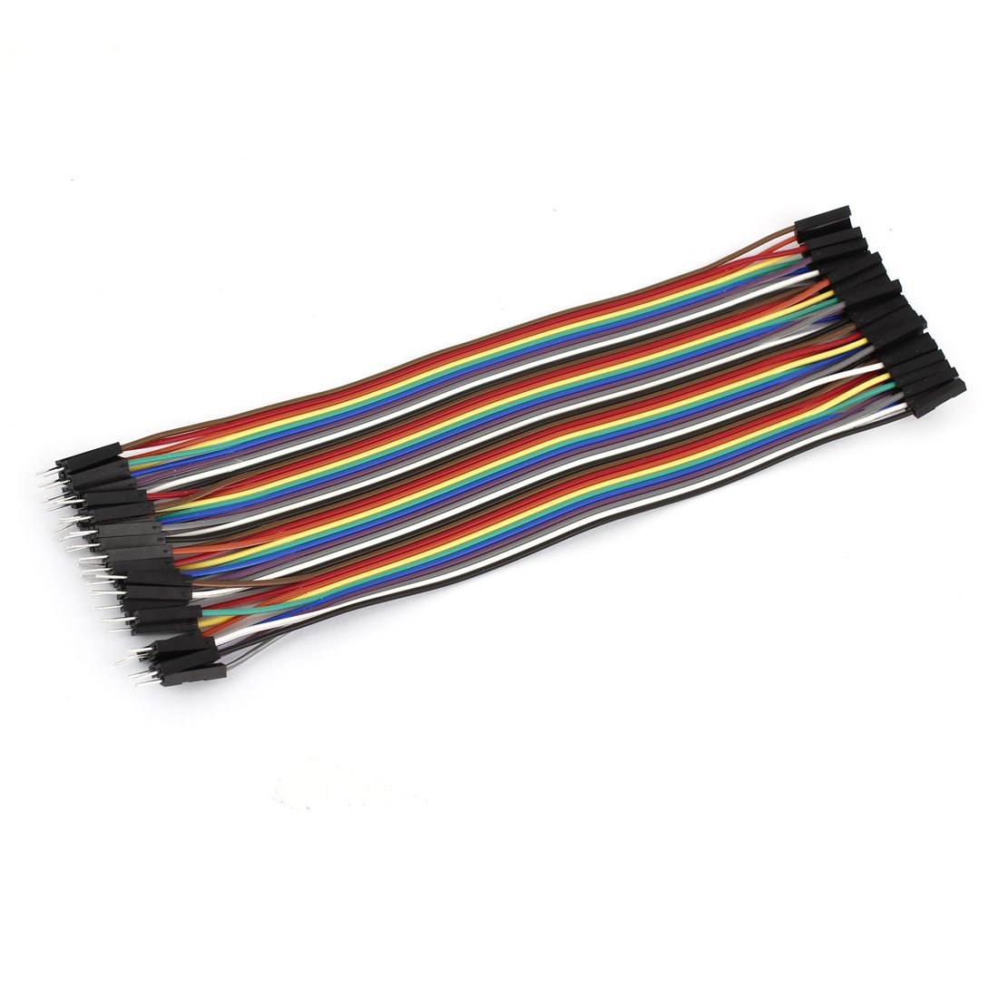 20 cm, 2,54 mm, da maschio a femmina a 40 Pin F/F Connect Jumper Cable Sourcingmap a14061000ux0610