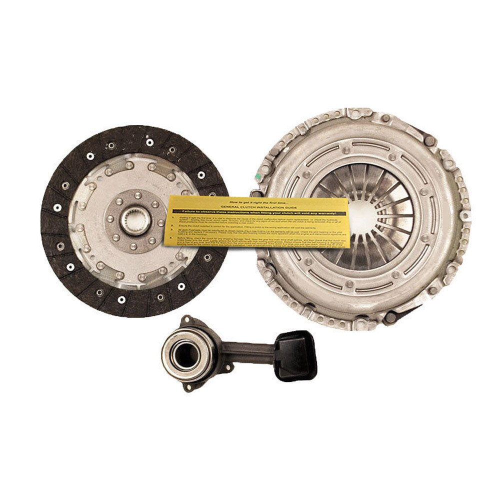 VALEO CLUTCH KIT+SLAVE CYL 2004-09 FORD FOCUS 2.0L 2.3L S SE SES ZX3 ZX4 ZX5