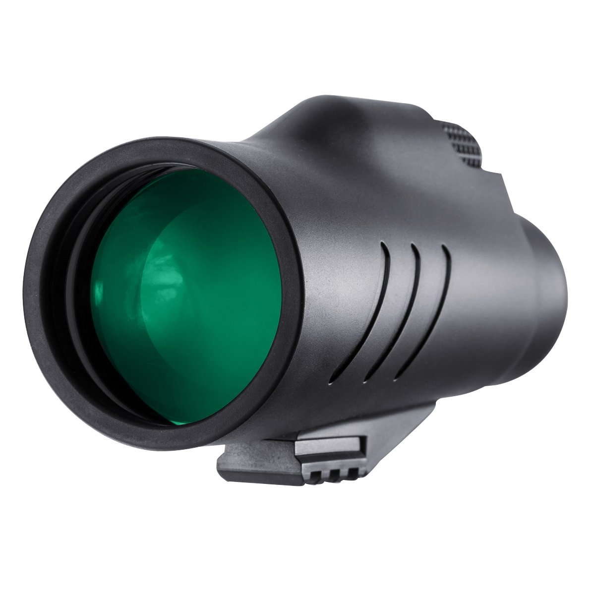 QUNSE 10X50 High Power Monocular Scope, with Hand strap for Adults and Kids, Bright and Clear Range of View, Completely Waterproof, Fogproof, for Bird Watching, Hunting and Outdoor Games