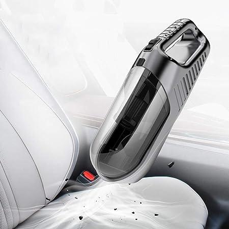 Mini aspiradora para Auto Aspiradora Coche de Mano, Accesorios portátiles para automóvil Aspiradora de Doble Uso para el hogar: Amazon.es: Hogar
