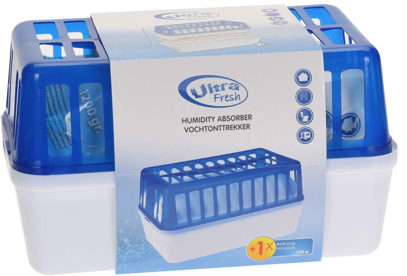 Luftentfeuchter 1,8 Liter inkl Nachf/ülpack 1200 Gramm
