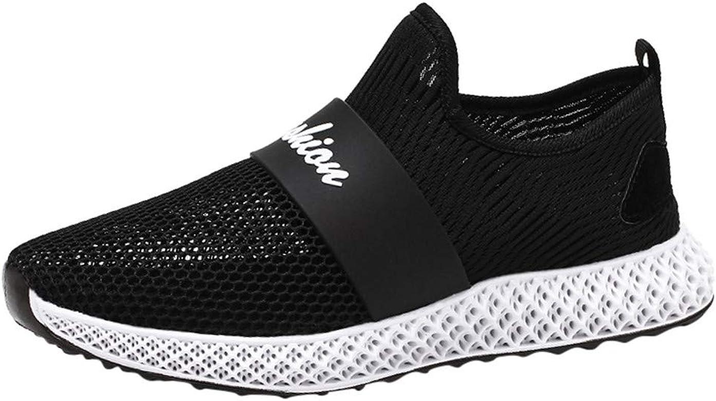 Jodier Zapatillas de Deporte para Hombre Respirable Sneakers ...
